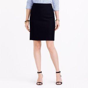 J. Crew Factory Pencil skirt in double-serge wool